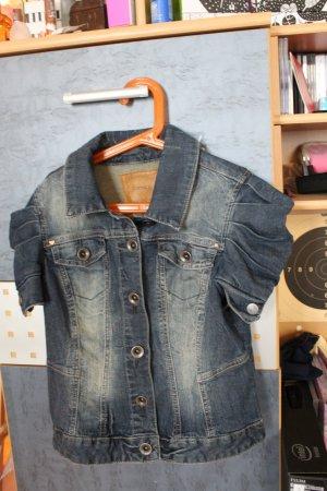 kurzärmelige jeansjacke von orsay - ungetragen