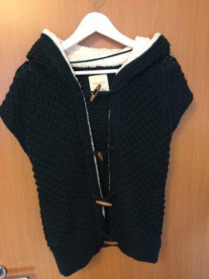 Kurzärmelige Weste/Pullover