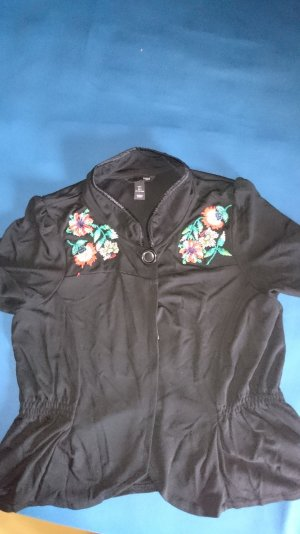 H&M Shirt Jacket multicolored viscose