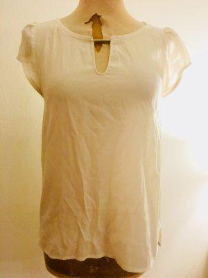 Kurzärmeliges Blusen-Top von Zara mit tollem Ausschnitt