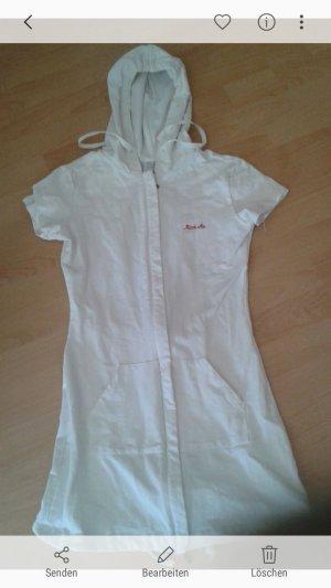 Kurzärmeliges Jerseykleid aus Baumwolle