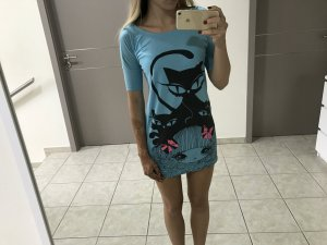 kurzärmeliges Nachthemd