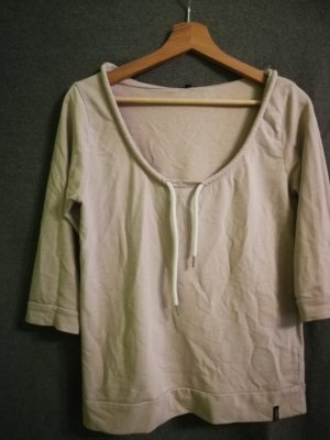 kurzärmeliges Sweatshirt mit Kapuze
