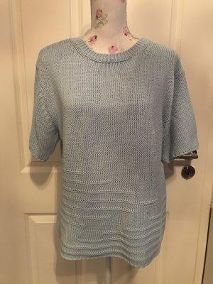 Belle Jersey de manga corta azul celeste