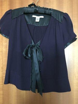 Kurzärmlige Bluse aus Seide von Diane von Fürstenberg in Größe 38/ M