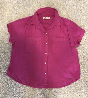 Hollister Short Sleeved Blouse pink