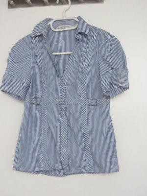Kurzärmlige Bluse von Zara im angesagten Sailor Look