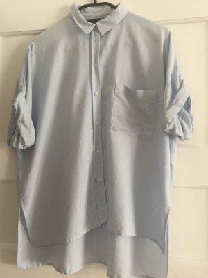 Kurzärmlige Oversize-Bluse