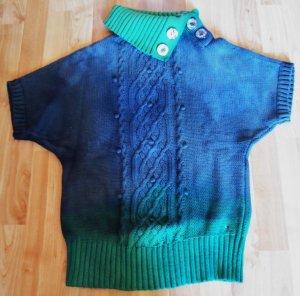 Kurzärmliger Pullover für den kalten Winter
