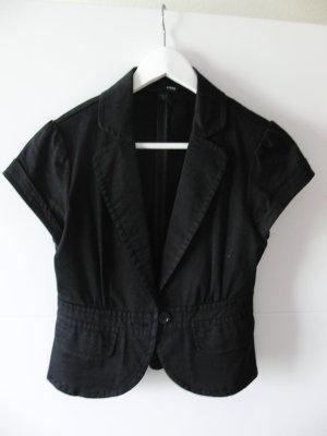 Kurzärmliger schwarzer Blazer von H&M
