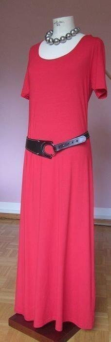 "kurzärmliges, rotes Kleid ""ALBA MODA"""