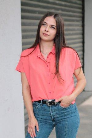 Kurzarm-Bluse