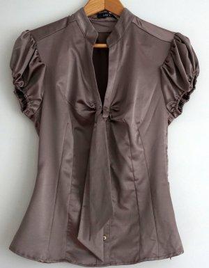 Kurzarm-Bluse in Größe 34