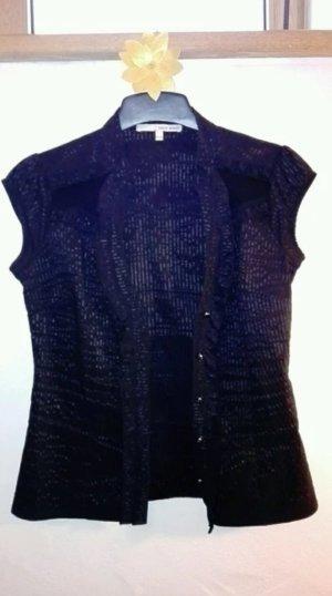 Kurzarm Bluse mit Ausschnitt