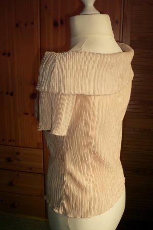 Kurzarm-Bluse mit Carmen Ausschnitt schulterfrei