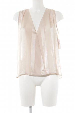 Kurzarm-Bluse rosé Romantik-Look