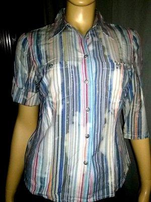 Kurzarm-Bluse von fashion concept- Gr.38