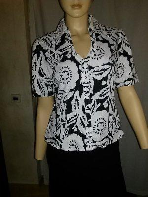 Kurzarm-Bluse von Modeszene - Gr.38
