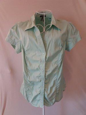Kurzarm-Bluse von Zero Gr. 42 (eher 40) mint