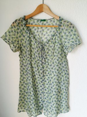 Kurzarm Empire Bluse Shirt