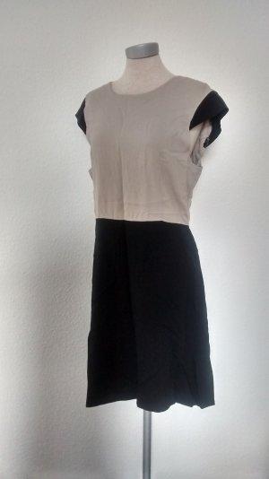 kurzarm Etuikleid in Gr. 40 Vero Moda Kleid kurz Büro schwarz sand grau