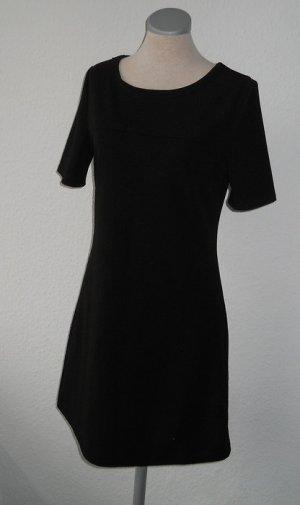 kurzarm Etuikleid schwarz Gr. S 36 38 neu Minikleid