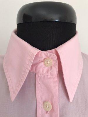 Benetton Camicia a maniche corte rosa chiaro-rosa