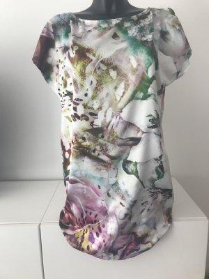 Kurzarm Kleid mit Blumenprint