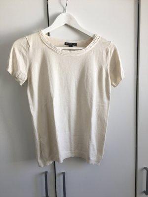 Kurzarm Pullover beige