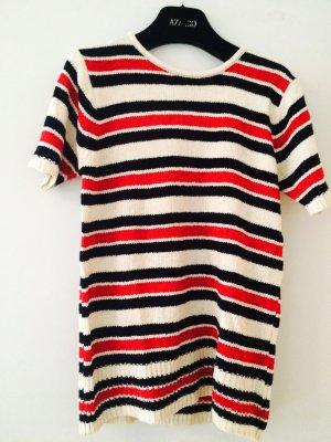 Kurzarm Pullover mit Streifen NEU