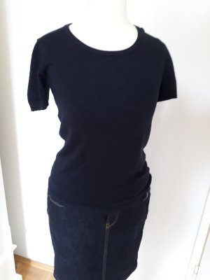 More & More Short Sleeve Sweater dark blue