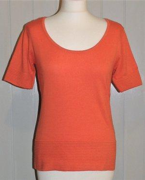 Kurzarm-Pullover von Heine in orange Größe 36