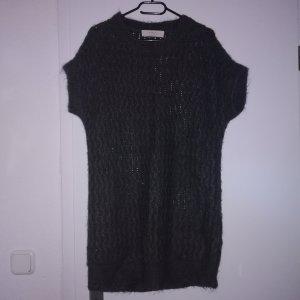 Zara Knit Sweater Dress dark grey