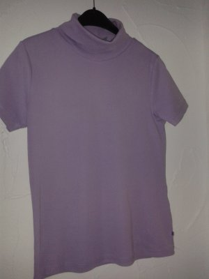 Street One Short Sleeve Sweater lilac cotton