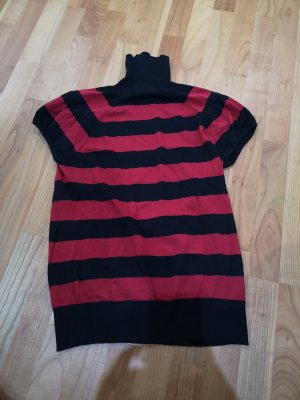 Turtleneck Shirt black-dark red