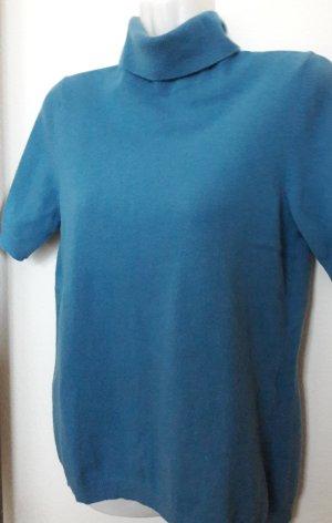 United Colors of Benetton Sudadera de cachemir azul cadete-azul aciano Lana