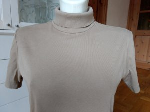Street One Pull à manches courtes beige-brun sable