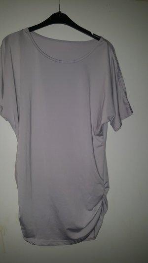 Long Shirt silver-colored-mauve