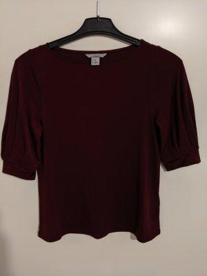 H&M Slip-over blouse bordeaux