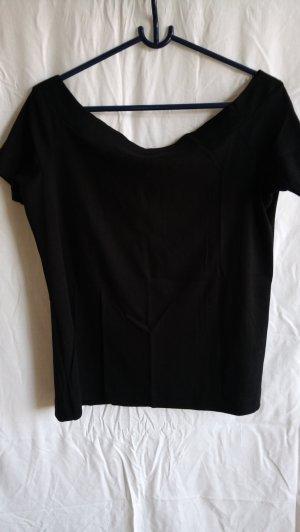 H&M L.O.G.G. Boothalsshirt zwart Katoen