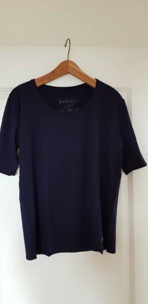 Kurzarm Shirt Princess goes Hollywood blau Gr.42