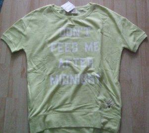 Kurzarm-Sweatshirt mit Logo-Print von Frogbox