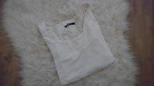Kurzarm t-shirt mit Spitze am Rücken (M)