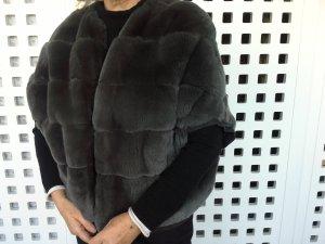 MaxMara Weekend Giacca di pelliccia grigio Pelliccia