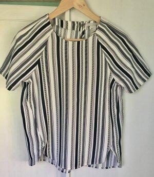 Kurzarmbluse/ Shirt Streifen H&M Gr. 34