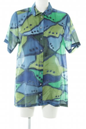 Short Sleeve Shirt abstract pattern extravagant style