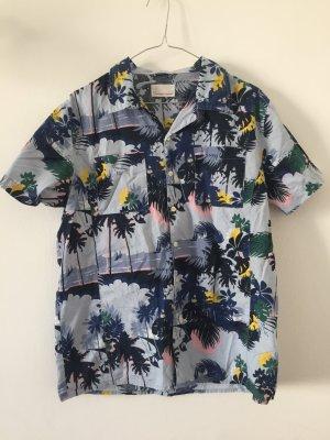 Camisa hawaiana multicolor Algodón