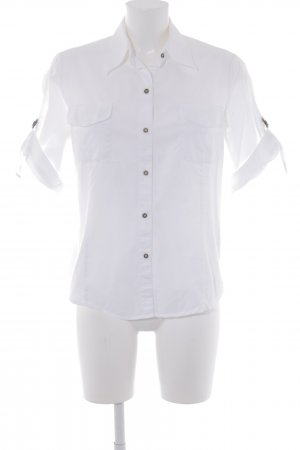 Short Sleeve Shirt white casual look