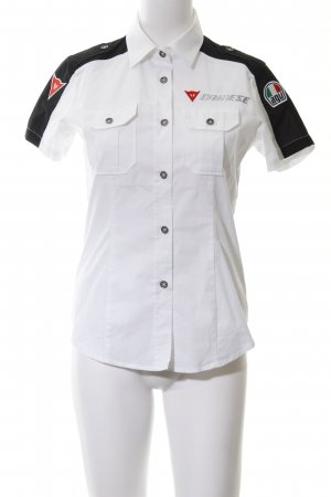 Short Sleeve Shirt white-black casual look