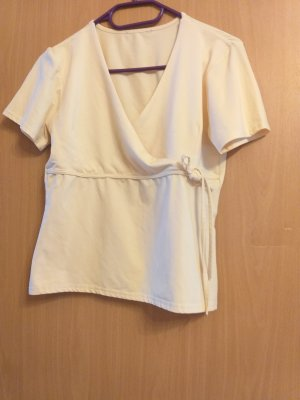 Wraparound Shirt pale yellow